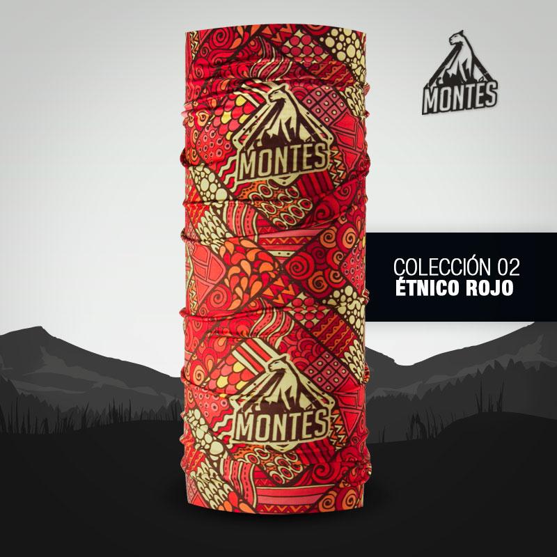 Étnico rojo - Montés
